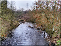 SJ7993 : River Mersey near Stretford by David Dixon