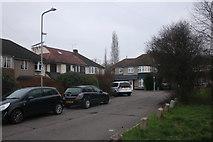 TQ4290 : Wensleydale Avenue next to Claybury Park by David Howard