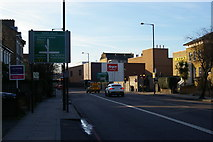 TQ3085 : Tollington Road, approaching the junction with Holloway Road by Christopher Hilton