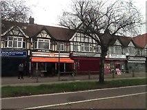 TQ1276 : Shops on Great West Road by Steve Daniels