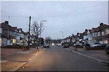 TQ4290 : Wensleydale Avenue, Clayhall by David Howard