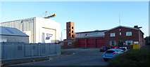 NS3274 : Port Glasgow fire station by Thomas Nugent