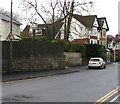 ST1586 : Warning sign - elderly people, St Martin's Road, Caerphilly by Jaggery