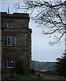 SK2957 : Willersley Castle Hotel and Park by Bob Harvey