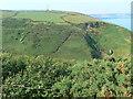 SN3053 : Wales Coast Path south of Llangrannog by Eirian Evans