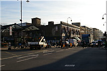TQ2985 : Kentish Town stations by Christopher Hilton