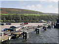 NX0767 : Landing Stage at Cairnryan Ferry Terminal by David Dixon