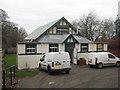 NT7273 : Innerwick Village Hall by M J Richardson