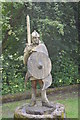 SO5300 : King Offa - Y Brenin Offa at Tintern Station by Colin Cheesman