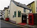 SO0428 : Gurkha Corner restaurant and K6 phonebox, Brecon by Jaggery