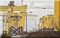 J3575 : Wind turbine parts, Harland & Wolff, Belfast  -  January 2019(2) by Albert Bridge