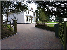 SO9568 : House on Fish House Lane, Sugarbrook, Bromsgrove by Jeff Gogarty