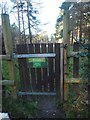 TL8096 : Entrance to Round Covert Caravan site by David Pashley