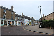TL3986 : High Street Chatteris at the junction of New Road by David Howard