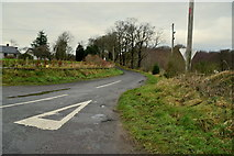 H5672 : Gap Road, Mullaghslin Glebe by Kenneth  Allen