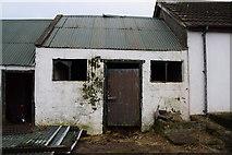 H5672 : Old farm shed, Mullaghslin Glebe by Kenneth  Allen