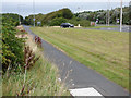 NS3334 : Meadowhead roundabout by Thomas Nugent