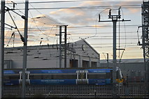 TQ2181 : Engine shed, Old Oak Common Depot by N Chadwick