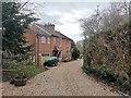 TQ0752 : Victorian Red Brick cottage with Developments by James Emmans