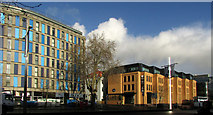 ST5973 : York House and Capital House, Bristol by Derek Harper