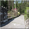 SS7798 : Lock House access road, Tonna by Jaggery