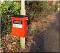 SO0002 : Dog waste bin on a Ty-Draw Road lamppost, Aberdare by Jaggery