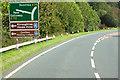 NX4265 : A75 near Calgow by David Dixon