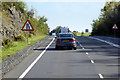 NX6253 : Eastbound A75 near the end of the overtaking lane by David Dixon