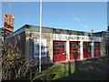 SO7847 : Malvern Fire Station, Malvern Link by Chris Allen