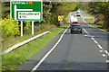 NX7158 : Eastbound A75 near A711 Junction by David Dixon