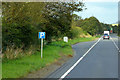 NX7562 : A75 Layby near Castle Douglas by David Dixon