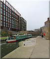 TQ3083 : King's Cross: on Regent's Canal by John Sutton