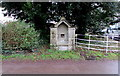 SO2418 : Grade II listed former Victorian drinking fountain, Llangenny, Powys by Jaggery