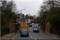 TQ3090 : Site of railway bridge, Park Avenue, Wood Green by Christopher Hilton