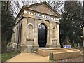 TF4510 : Renovated chapel in The General Cemetery, Wisbech by Richard Humphrey