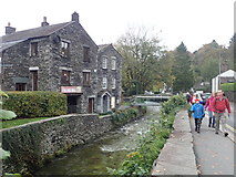 NY3704 : The Fulling Mill, Ambleside by Eirian Evans