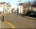 ST1490 : Llanbradach railway station direction sign by Jaggery