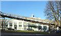 TQ1674 : Globe Central and Footbridge by Des Blenkinsopp