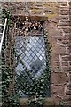 SO5929 : Ivy covered leaded window at Fawley Chapel by John Winder