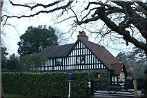 TL6400 : House on Mill Green Road, Fryerning by David Howard