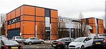 NS3421 : Aeronautical Engineering Building Ayrshire College - Ayr by Ian Rainey