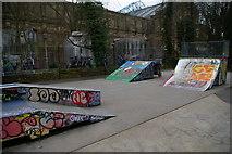 TQ2990 : Skate park, Alexandra Park by Christopher Hilton