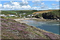 SM8518 : Nolton Haven from the Pembrokeshire Coast Path by Simon Mortimer
