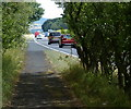 NU0048 : Path along the A1 near Scremerston by Mat Fascione