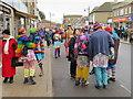 TL2697 : Multi-coloured dancers - Whittlesea Straw Bear Festival 2019 by Richard Humphrey