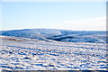 NY8643 : Snowed moorland  south from summit of Burtree Fell by Trevor Littlewood