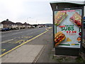 ST3090 : Subway Saver Subs advert on a Malpas Road bus shelter, Newport by Jaggery