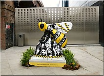 SJ8397 : Bee Here Now by Gerald England