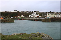 NW9954 : Inner Harbour Entrance, Portpatrick by Billy McCrorie