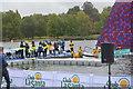TQ2780 : Serpentine swim finish by N Chadwick